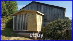 10 x 6.5 ft Single dog kennel and run (delivery available please enquire)