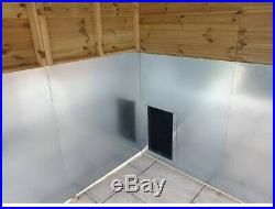 10 x 8 ft Dog Kennel And Run With Chewproof Pack