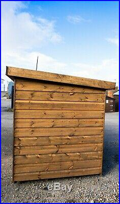 10x4 Woodend Dog Kennel and Run (4.3 foot tall)