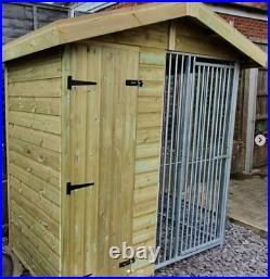 12x8ft Dog kennel and run