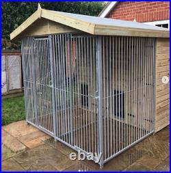 13x12ft Duo dog kennel and run