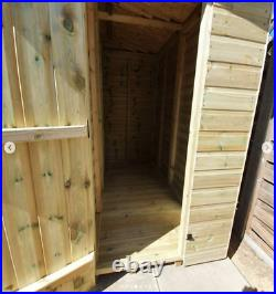 19x5ft Pent duo kennel