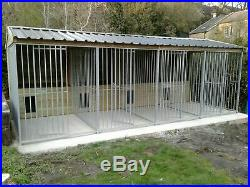 4 bay'Rht Exbury' dog kennel and run