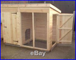 6x4 Dog kennel and run