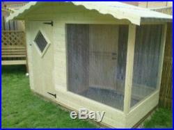 8x3 CHALET STYLE DOG/CAT RUN