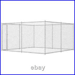 Best! Outdoor Dog Kennel Steel Pet Animal Cages House Puppy Shelter Runs