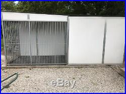 Chicubes Insulated Extra Large Kennel & Covered Run (hardly Used)