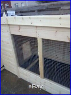 DOGKENNEL AND RUN PENT STYLE. 10x4