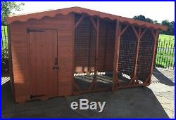 Dog Kennel And Run 12ft X 5ft