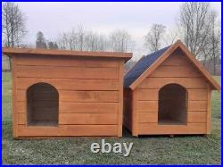 Dog Kennel & Run 10ft x 4ft Treated Timber Delivery &Installation