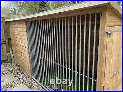 Dog Kennel and Run, 12ft x 5ft