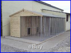 Dog Kennel and Run BLOCK. Multi-Bay kennel From £1790 (2 Bay)