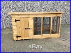 Dog Kennel and Run for Small/Medium Dog with Run 6ft x 3ft Can Deliver