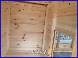 Dog Kennel and Run for Small/Medium Dog with Run Quality item- Can Deliver