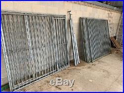 Dog Run / Kennel Galvanised Panels