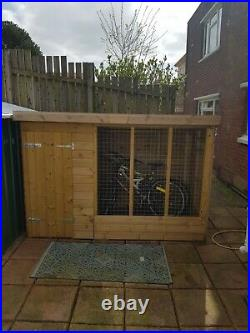 Dog kennel and run 8x4