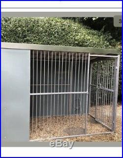 Dog kennel and run Mitton Hall Blenheim