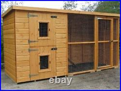 Dog kennel and run cheapest on ebay for quality various sizes