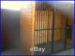 Dog kennel and run made to your own requirements