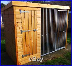 Dog kennel with run FREE DELIVERY and INSTALLATION norfolk by Doghealth