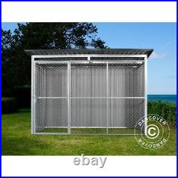 Dog run and kennel 2.6x1.6x1.8 m ProShed, Anthracite