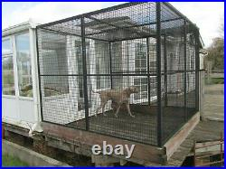 Dog run used. 8ft x 8ft X 6ft tall. With side door and top