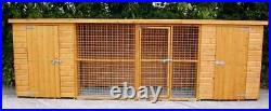 Double dog kennel and best quality on eBay, various sizes