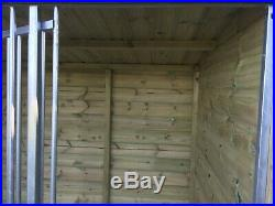 FREE UK DELIVERY & INSTALLATION Various Size Garden Dog Kennel & Run Tanalised