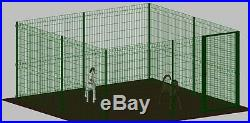 Fence enclosure playpen 4x4m dog pet cage play run outdoor kennel