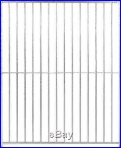 Galvanised Dog Run Panels 5cm Bar Spacing Prestige Range