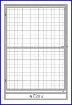 Hot-dip Galvanized Steel Dog Run (5 panels + gate)