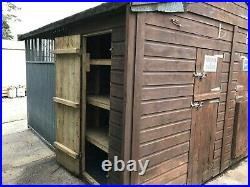 INSULATED DOUBLE DOG KENNELS AND RUNS 3.2m x 3.0m per UNIT
