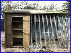 INSULATED DOUBLE DOG KENNELS AND RUNS 3.2m x 3.0m per UNIT TWO UNITS AVAILABLE