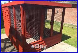Large Rabbit, cat Or DogKennel 10' X 6ft Width And 5! 6inchHigh' 2x2 Frame Work
