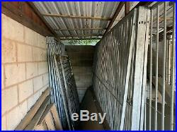 Metal dog kennels / Pet Runs 7 bays available 1.5mt and 3mt