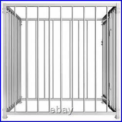 Outdoor Dog Kennel Pet House Enclosure Run Cage Playpen Heavy-duty Steel Frame