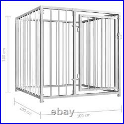 Outdoor Dog Kennel Pet House Enclosure Run Cage Playpen Pet Supplies Steel Frame