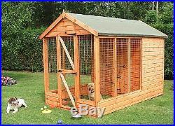 SHIRE 7x10 Apex Dog Kennel & Run a
