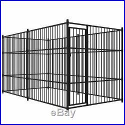 VidaXL Outdoor Dog Kennel 4x2x2 m Puppy Playpen Run Cage Enclosure House